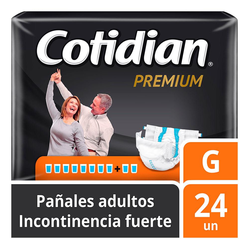 c0f526ecbc Pañales de Adulto Cotidian Premium Incontinencia Fuerte 24 un G - Mi ...